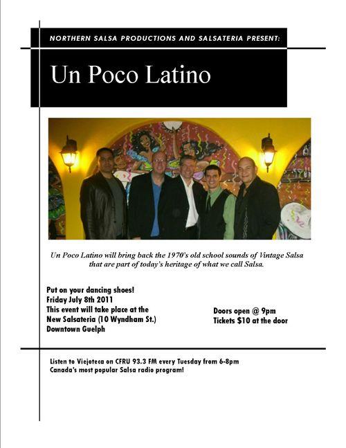 Un poco latino july 9