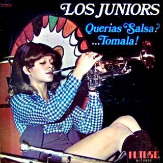 Los Juniors - Querias Salsa ...Tomala! - Front