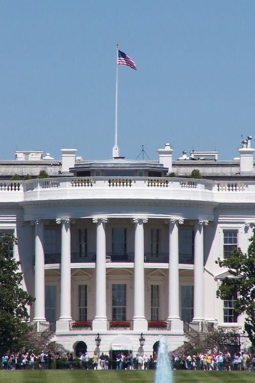 "the ""White"" House"